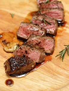 MEAT AND ROSEMARY