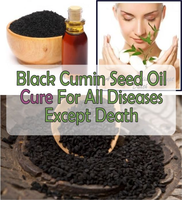 Black Cumin Seed Oil - Cure For All Diseases Except Death