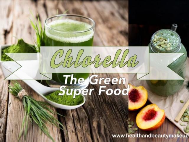 Chlorella the green super food